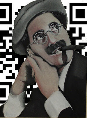 Grocho Marx QRCodes