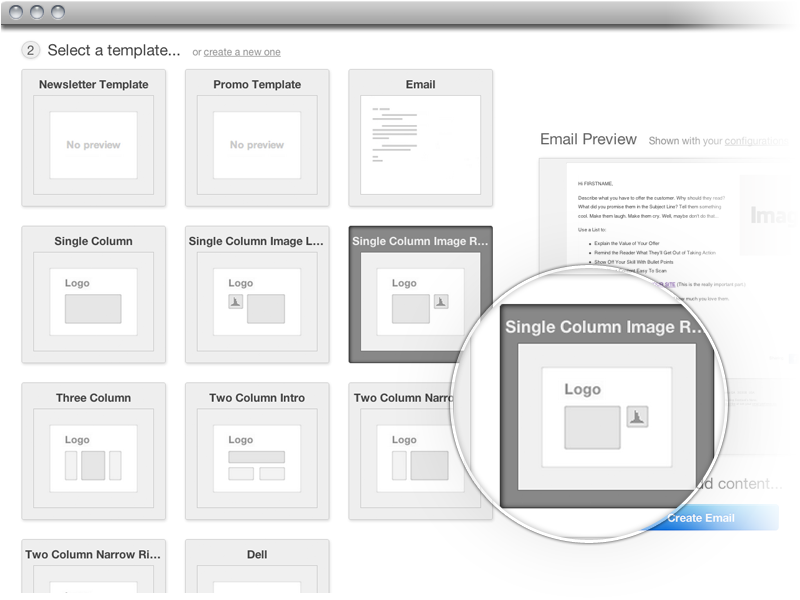 Great Features Of HubSpots New Email Marketing Program - Free email template editor
