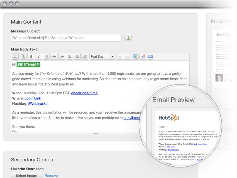 HubSpot email marketing Updates