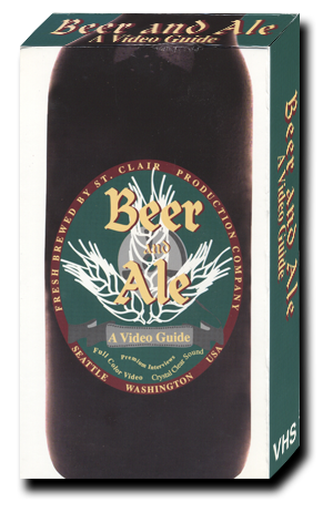 Beer and Ale: A Video Guide VHS Box