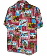 Christmas Hawaiian Shirt.The Christmas Hawaiian Shirt