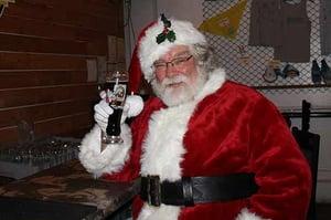 Santa has been busy.