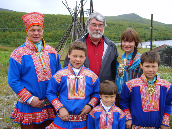 Sami Family in Norway, part of Quest for the Viking Spirit.