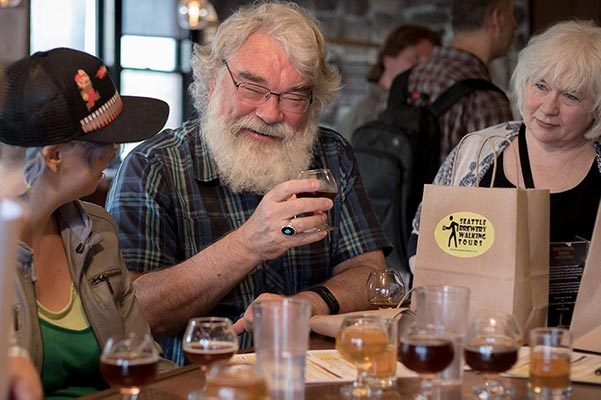A Guided beer tasting when you Visit Seattle